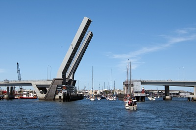 Image: Repair works to the Diver Derrik Bridge have been completed. Source Bilby